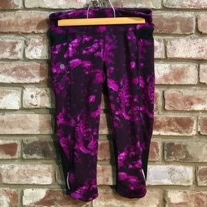 Athleta XS Stash Pocket Crop Leggings-Pre❤️'d